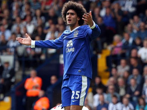 Fellaini: Looking for a move away from Everton