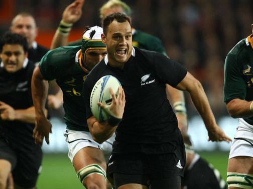 Israel Dagg: Grabbed the opener for the All Blacks