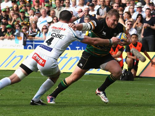 Dylan Hartley: Scored a second-half try