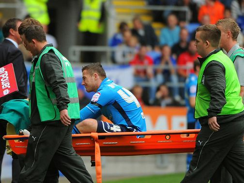 Ross McCormack: Set to be out injured until November