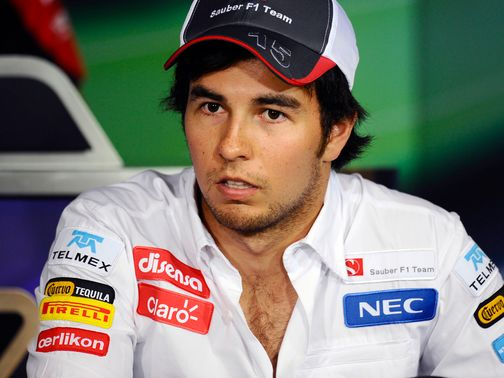Sergio Perez: Has tyre concerns