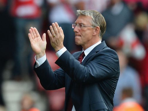 Nigel Adkins: Keen to downplay Liverpool connections