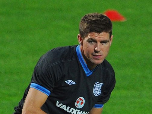 Gerrard: Admits England may need a miracle