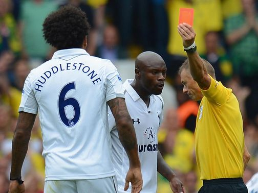 Tom Huddlestone: Wins his appeal against Norwich red card