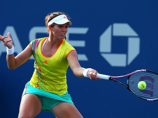 Laura Robson: Books spot in the second round