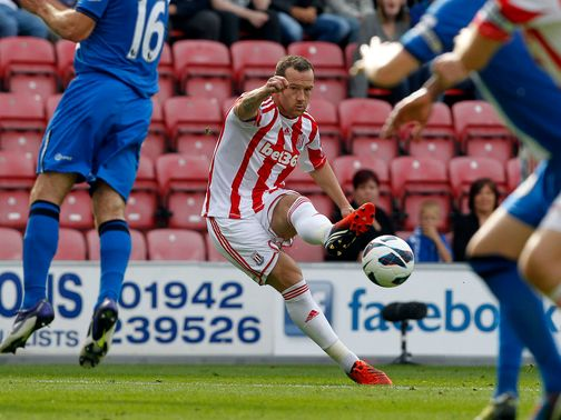 Charlie Adam: Made Stoke debut against Wigan