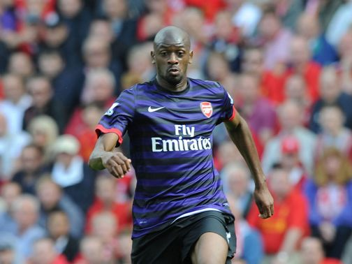 Diaby: Facing three weeks on sidelines