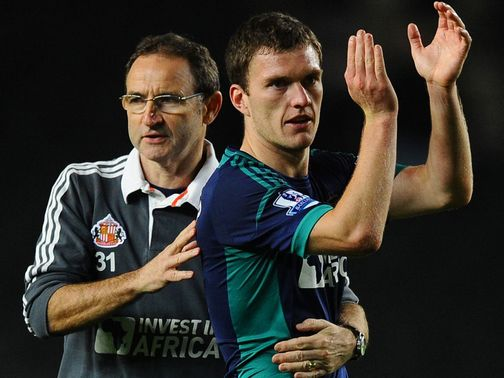 Martin O'Neill has been backed by Craig Gardner