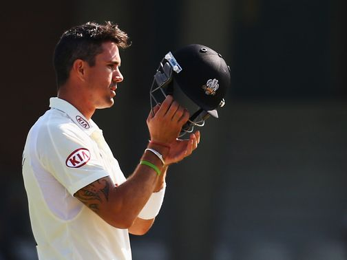 Pietersen: Left out of the Test squad to tour India