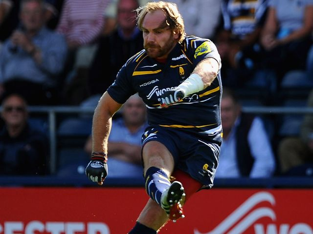 Andy Goode: Kicked Worcester to victory