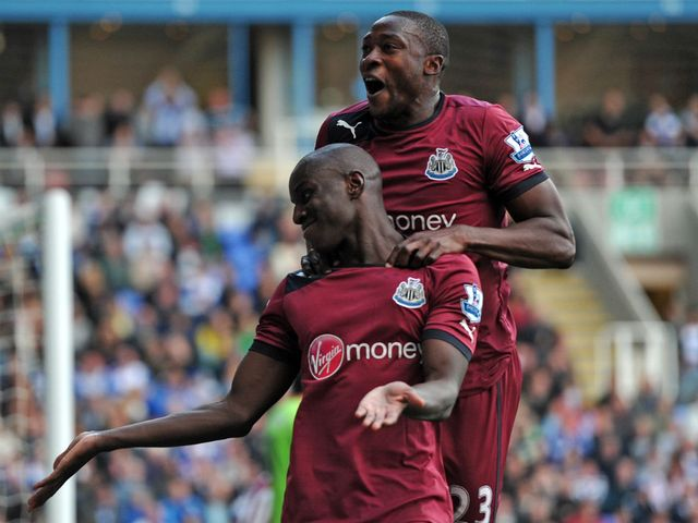 Demba Ba: Netted a controversial equaliser