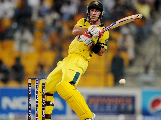 Glenn Maxwell: Guided Australia to victory