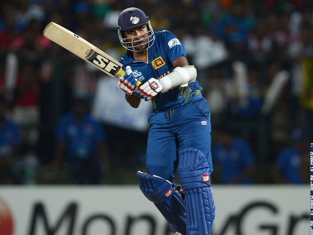 Mahela Jayawardene: Hit a fine and unbeaten 65