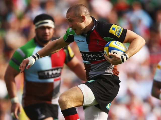 Mike Brown: Set for a Harlequins return