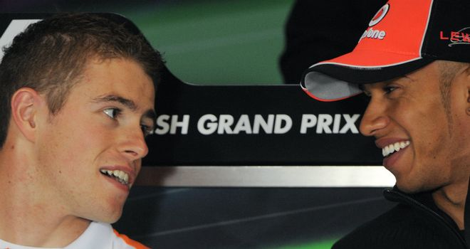 Could di Resta replace Hamilton at McLaren?