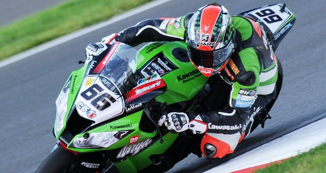 Tom Sykes: Raced to record in qualifying for Sunday's World Superbike races at Portimao.