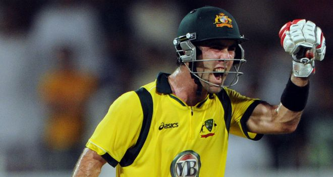 Glenn Maxwell: making an impact for Australia in limited-overs cricket