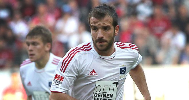Rafael van der Vaart: Fears it will be 'difficult' for him to play again in 2012 due to hamstring injury