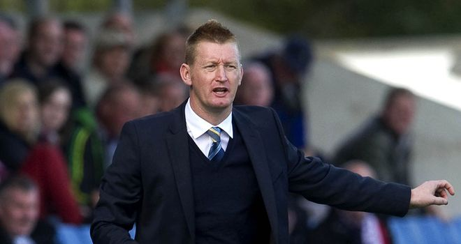 Steve Lomas: Hoping for six wins on the bounce
