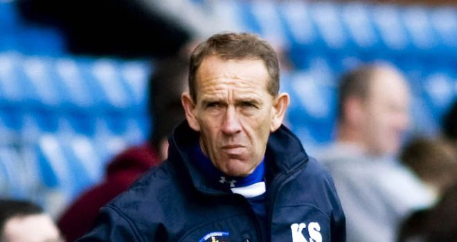 "Kenny Shiels: ""A bit down"""