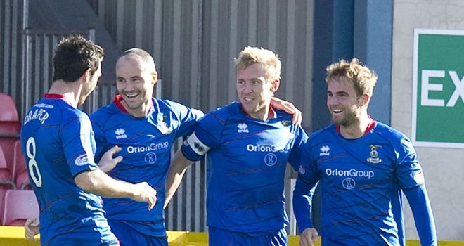 Inverness Caley Thistle: Injuries blamed for deficit