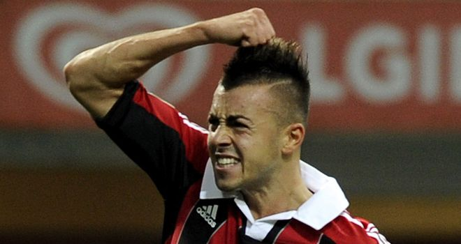 Stephan El Shaarawy: Twice on target for Milan