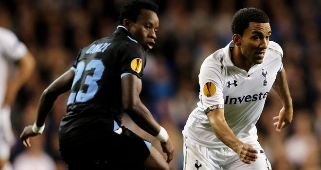 Aaron Lennon: Subjected to monkey chants during Europa League clash with Lazio