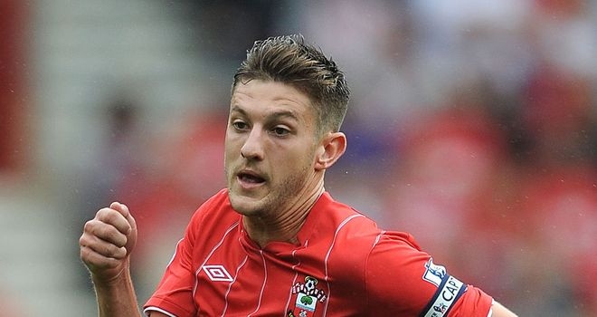 Adam Lallana: Praised by Southampton boss Nigel Adkins after being called into the England squad