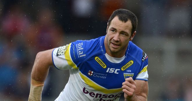 Adrian Morley: Set to return from injury for Warrington this weekend
