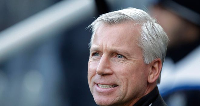 Alan Pardew: Accepts red card through gritted teeth