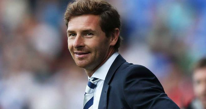 Andre Villas-Boas: Says he does not feel under pressure at Tottenham