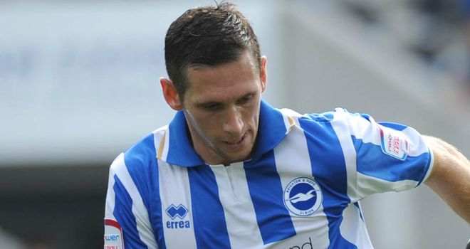 Andrew Crofts: Brighton midfielder set to make his return from injury