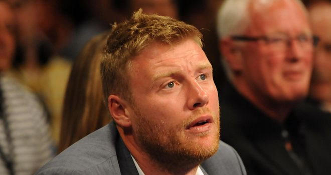 Flintoff: the former England cricketer will make his professional boxing debut in November