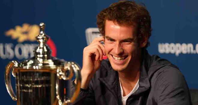 Andy Murray: Awarded an OBE in the New Year Honours list