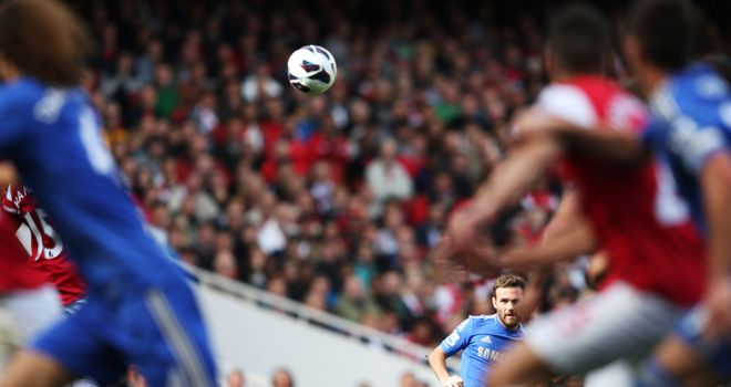 Juan Mata: Starred for Chelsea with a goal and an assist