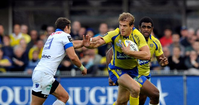 Aurelien Rougerie: Starts on the wing for Clermont