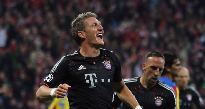 Bastian Schweinsteiger: Ready for the challenge of facing Arsenal