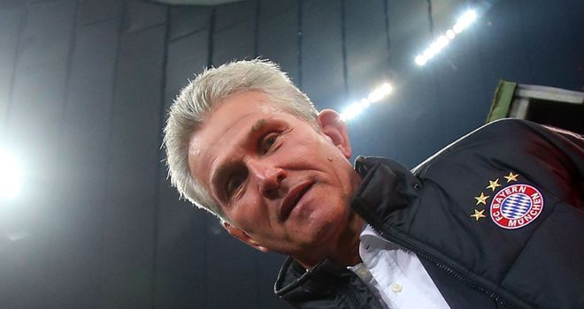Jupp Heynckes: Delighted with the football on show at Bayern