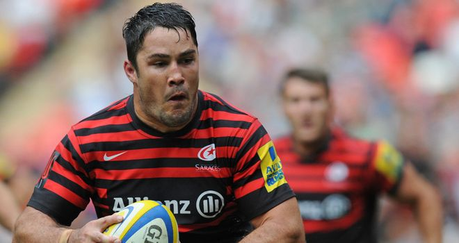 Brad Barritt: Backed to cross the whitewash against Munster