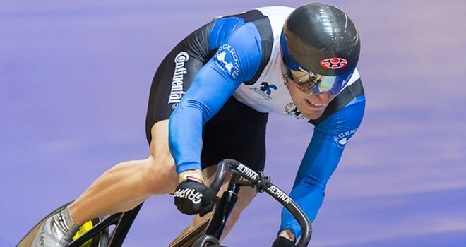 Skinner: Sprint success (photo: Guy Swarbrick/British Cycling)