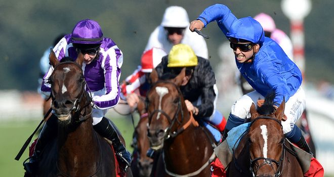 Encke beats Camelot in the Ladbrokes St Leger