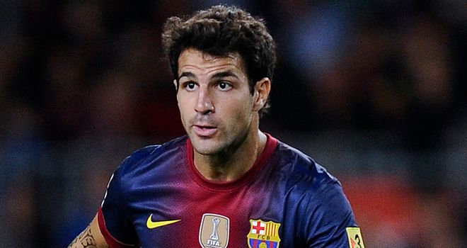 Cesc Fabregas: Lasted nine minutes at Betis