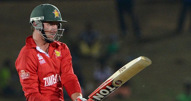 Craig Ervine: Rejects place in Zimbabwe squad