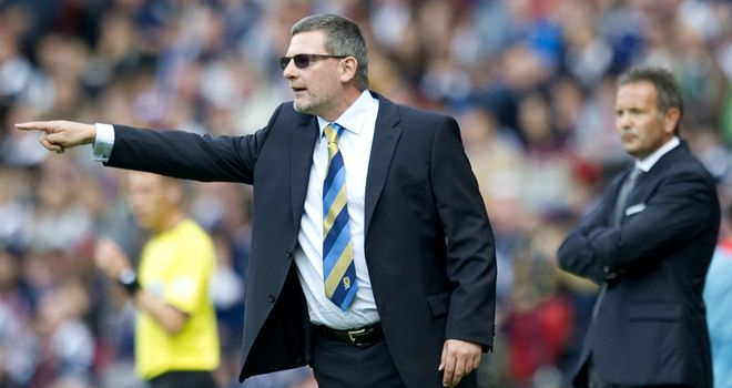 Craig Levein: Disappointed not to have defeated Serbia in a 0-0 draw at Hampden Park