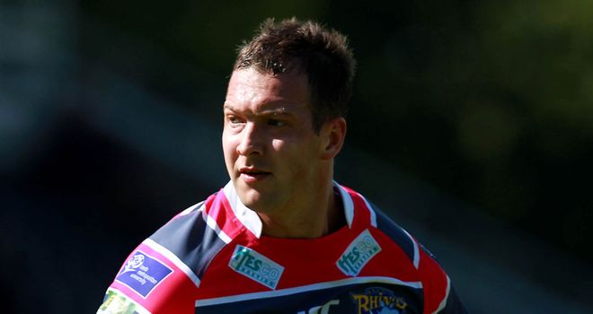 Danny McGuire: Back in training following a knee injury