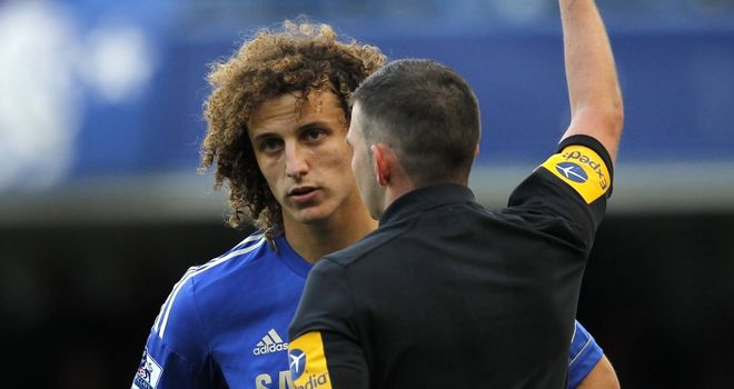 David Luiz: Chelsea defender's challenge on Jon Walters left Tony Pulis seething