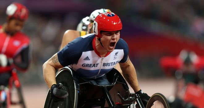 David Weir: Switched his focus to the pursuit of his second Paralympic gold