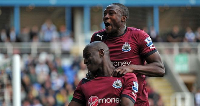 Demba Ba: Newcastle's No.19 was apologetic about his second goal against Reading