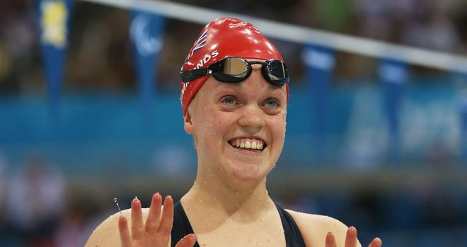 Ellie Simmonds: Looking to claim her third gold medal of London 2012