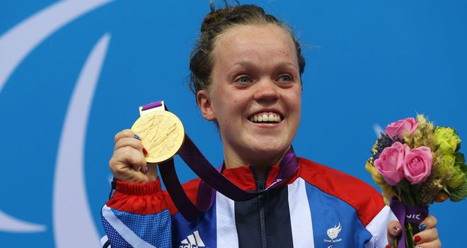 Ellie Simmonds: Back in the water on Monday aiming to win her second gold of the Games